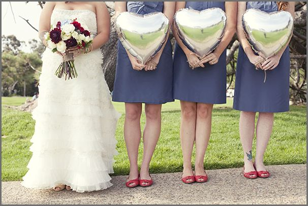 Real Wedding Michelle and Jeremy 39s Vintage 4th of July Wedding