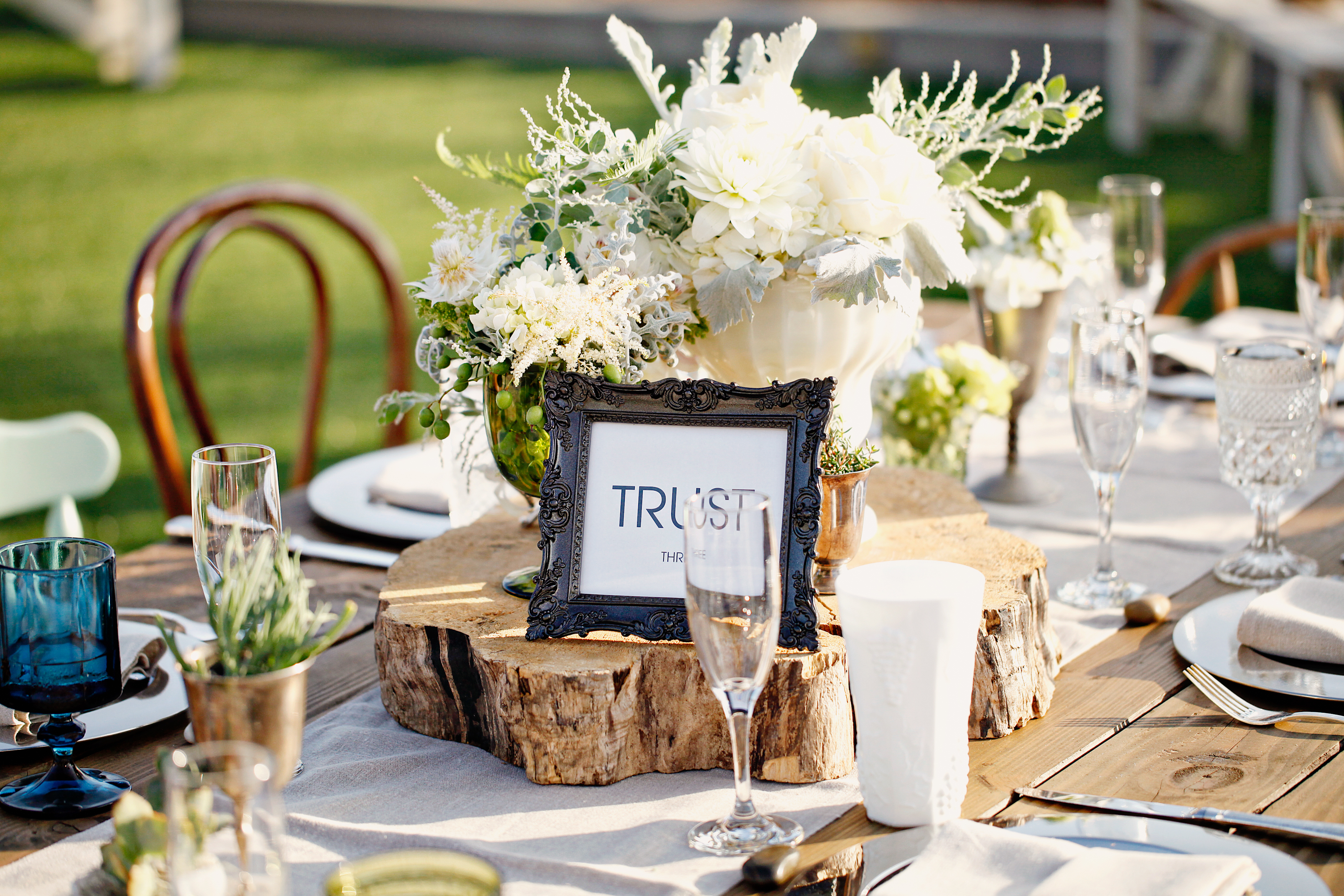 Centerpieces rustic and on pinterest