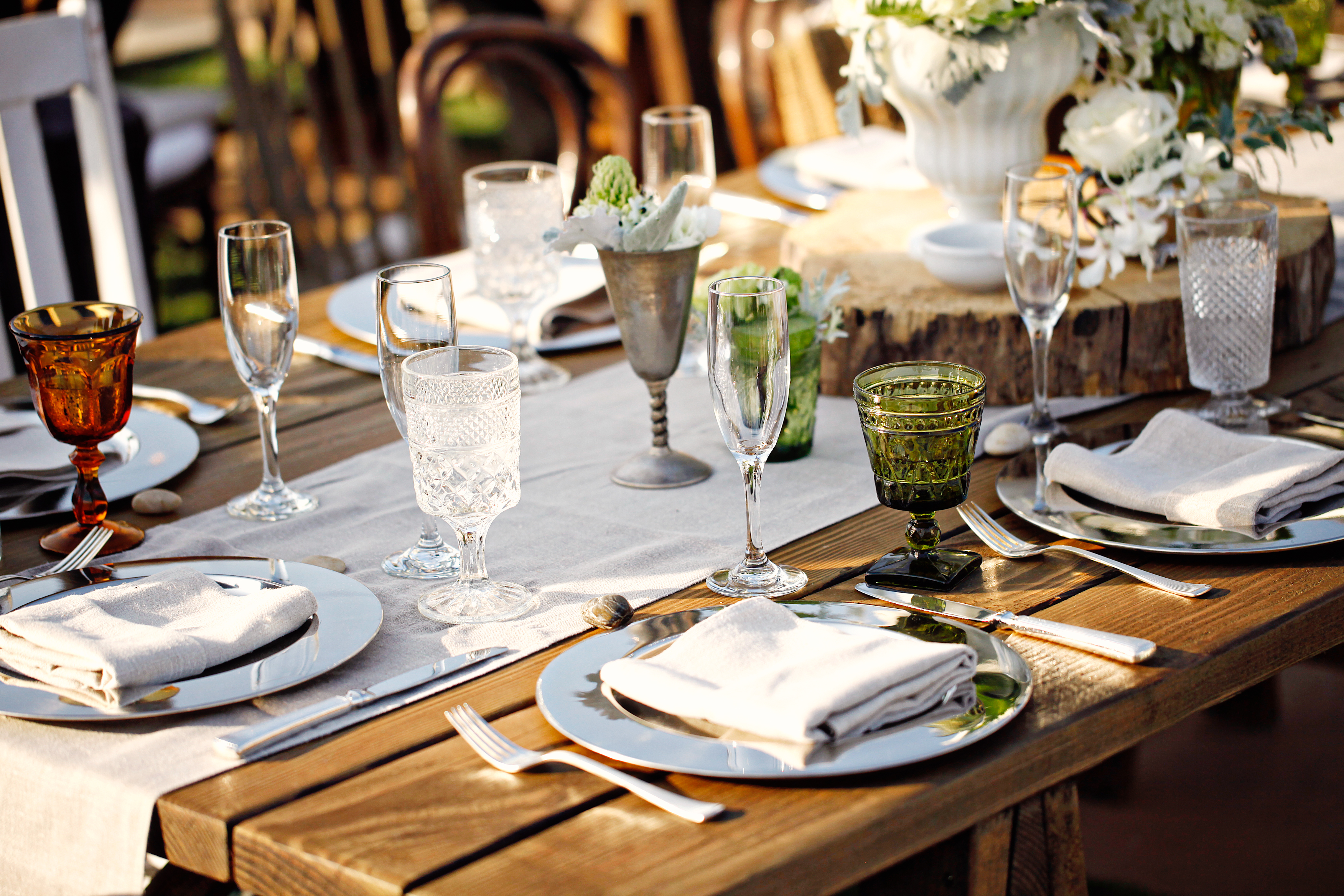 Mismatched ... : vintage wedding table settings - pezcame.com