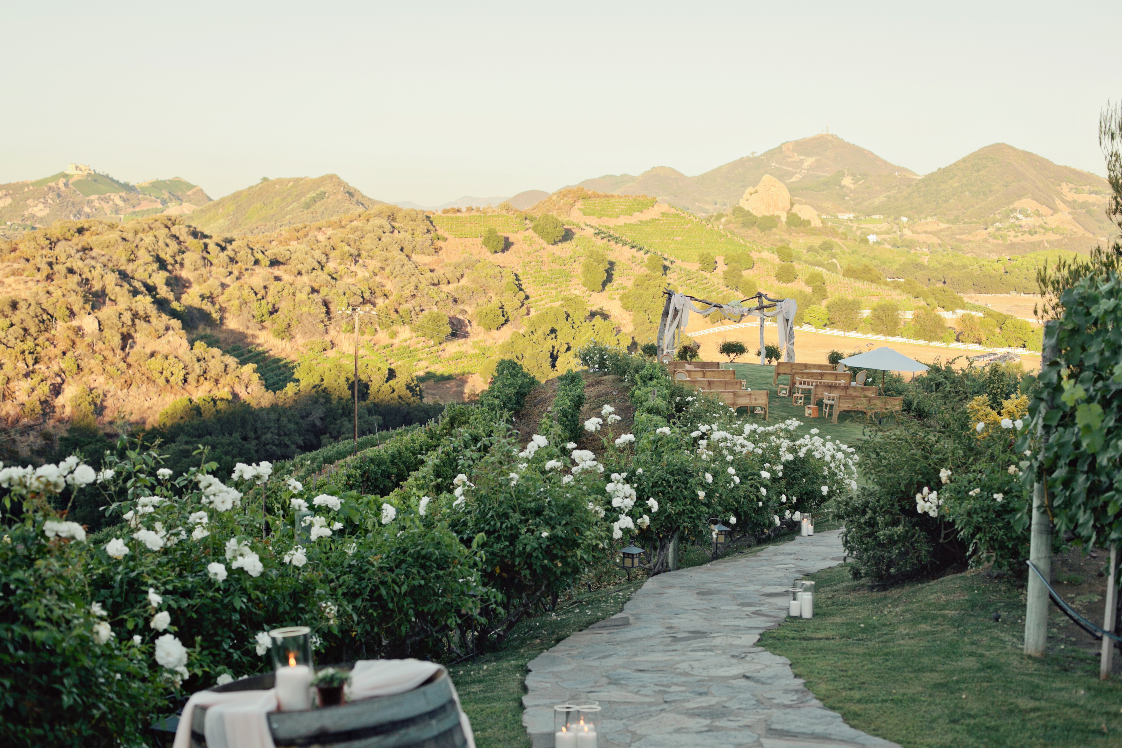 Saddlerock Ranch Wedding.Real Wedding Denise Giampiero At Saddlerock Ranch Malibu