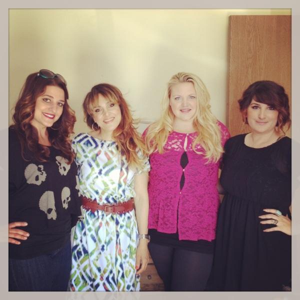Design Visage beauties Georgia, Ella, Emmalee and Jen