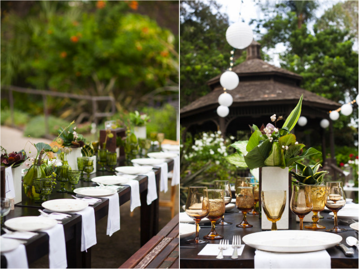 San Diego Botanical Garden Wedding With Isari Floral Studio On Style Me Pretty Archive Rentals