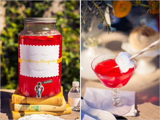 Barb S Vintage Yellow Gray Bridal Shower Featured On The
